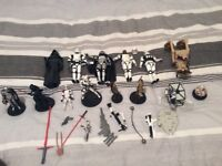 Star Wars figures for sale excellent xmas present