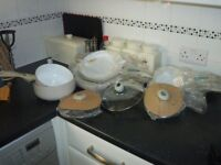 ALL KITCHEN SMALL APPLIANCES AND STORAGE / UTENSILS / 10 MONTHS OLD