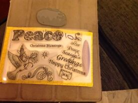 Christmas craft stamps
