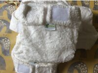 Brand new - 20 Littlelamb re-usable bamboo nappies, inserts and 10 wraps