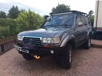 STUNNING LANDCRUISER 4.2 MANUAL, VERY LOW MILES, EXPEDITION UPGRADES, MINT CONDITION, VERY RARE