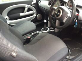 Mini Cooper , same lady owner for nearly 3 years and never missed a beat
