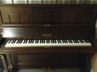 Sames Upright Overstrung Piano