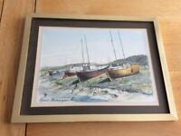 Original Watercolour of Uphill, Weston-Super-Mare