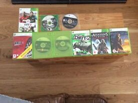 Xbox 360 with Kinect all good working condition with 9 games
