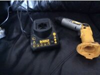 Dewalt 7.2v angle/ straight screwdriver and charger