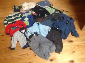 Bundle Baby Boy Clothes (up to 12 months)
