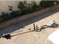 Ryobi RBC30 PHT petrol long reach grass trimmer. TOUCH START. New head attachment.