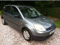 2002 FORD FIESTA 1.3 5-DOOR **FULL MOT**FSH**TOW BAR FITTED**
