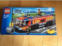 Lego sets -Lego city fire engines and Lego creator house -brand new in box