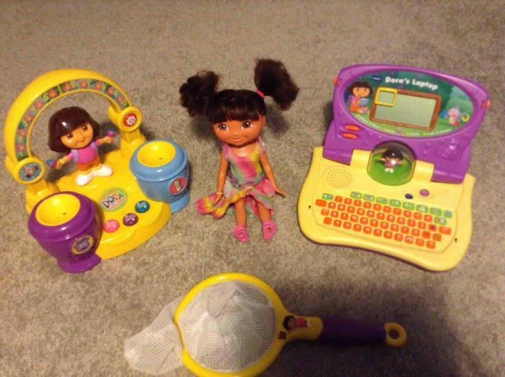 Dora Explorer Bundle - Excellent Condition - Fully Working Order
