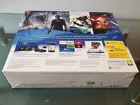 4 months old Sony PlayStation 4 Slim – 500 GB and Controller, Game, Wires, like new