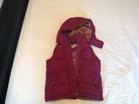 Girls joules gilet age 5