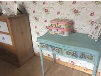 Fully refurbished console tabe
