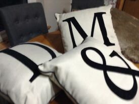 Cushions different sizes