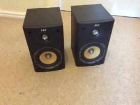B & W speakers