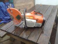 Stihl Saw TS 400, Cut Off Concrete Saw