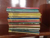 Set of British artist books