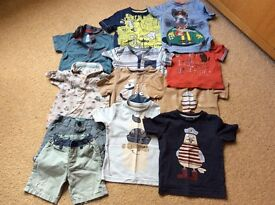 Baby Boys 9-12 months bundle - great condition some New