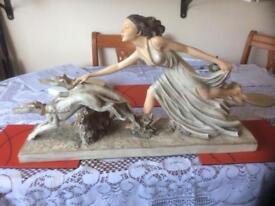 Art Nouveau style figurine