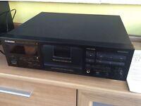 Panasonic double tape deck - vintage