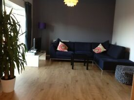 King Size Room, Fully Furnished, Bills Included – Modern & Large Flat Share - Central Bedford