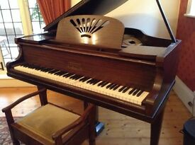 Baby Grand Piano with stool for sale