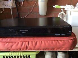 Panasonic HD recorder, Panasonic Freeview Box and Sky Box. All as new condition.