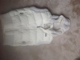 Superdry body warmer medium cream new not worn immaculate