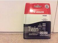 Canon pixma twin ink black new