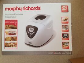 Morphy Richards 48281 Fastbake Breadmaker, Brand New in Unopened Box