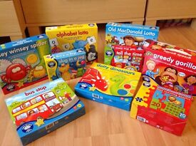 Excellent selection of Orchard educational games from early years to Ks2 all excellent condition