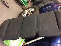 Ford Fiesta rear seats 2008-2012