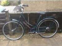 DUTCH STYLE LADIES BIKE FOR SALE-GOOD CONDITION-FREE DELIVERY