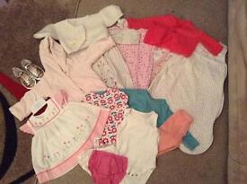 Girls 3-6 month clothing bundle