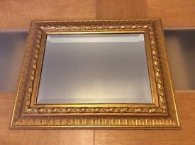 Lovely Gold Ornate Mirror From John Lewis