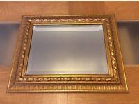 Lovely Gold Ornate Mirror From John Lewis