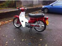 honda cub c90 1999 new mot