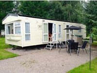 STATIC CARAVAN in TARLAND by ABOYNE, ABERDEENSHIRE. 2 BED (35ft x 12ft) £14,500