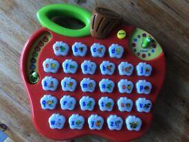 V-tech alphabet apple
