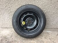 Ford Fiesta spare wheel 2009 on