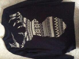 Men's Christmas jumper-small
