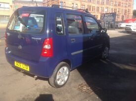 Suzuki wagon 1.2 Gl 2007 only 41000 miles MOT ONE YEAR 5 door spare key perfect small family car