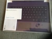 Microsoft surface pro...type cover