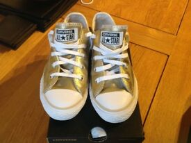Girls converse trainers size 13