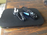 SKY Q NEW BOXT 2B BOX WITH REMOTE