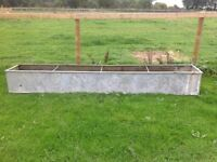 10ft Metal Trough