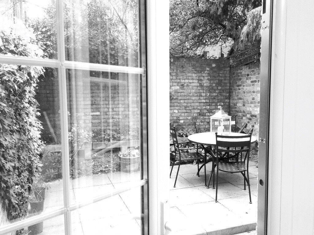 Charming Garden Apartment in Chelsea