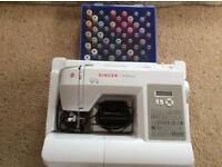 Singer 6180 Brilliance sewing machine and cotton box