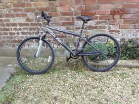 Used mountain bike. Serviced last 12 months. Being sold as too small and new bike purchased